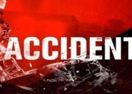 बोलेरो दुर्घटनाग्रस्त, एक की मौत 2 घायल